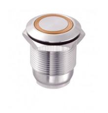 Bouton poussoir  inox LAS1-GQ-11E-O-WIRES
