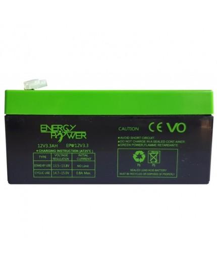 Batterie Étanche au Plomb 12 V / 3,3 Ah EPW12V3,3AH