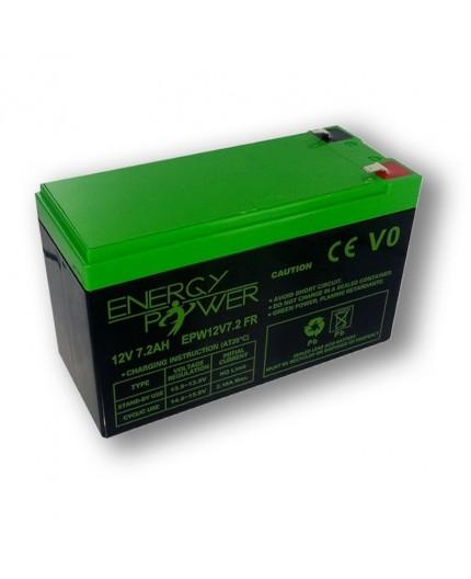 Batterie Étanche au Plomb 12 V / 7,2 Ah EPW12V7,2AH