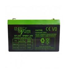 Batterie Étanche au Plomb 6 V / 1,3 Ah